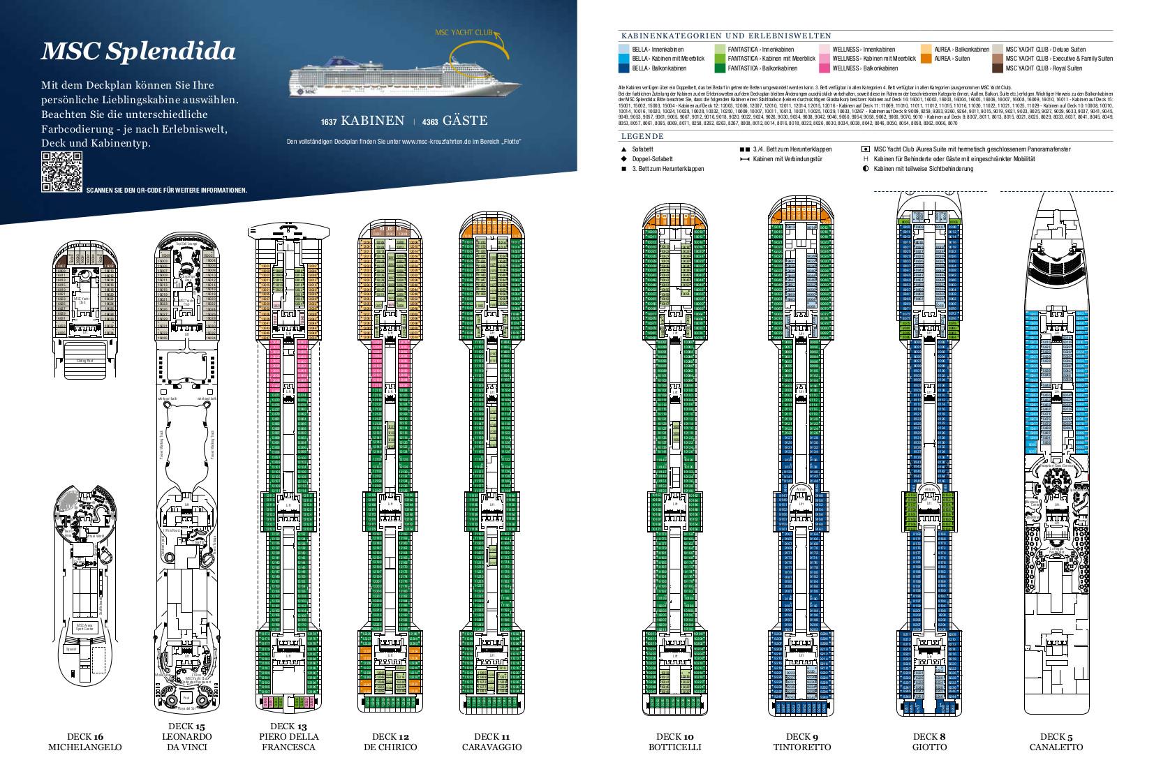 MSC Splendida: Kreuzfahrt online buchen | Schiffs-Urlaub.de
